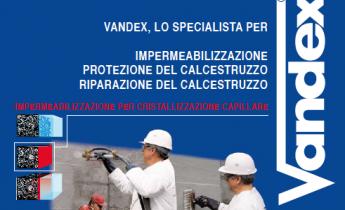 VANDEX LO SPECIALISTA PER IMPERMEABILIZZAZIONE - PROTEZIONE DEL CALCESTRUZZO - RIPARAZIONE DEL CALCESTRUZZO