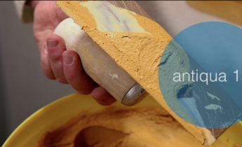 sandtex antiqua | pitture a calce | video tutorial