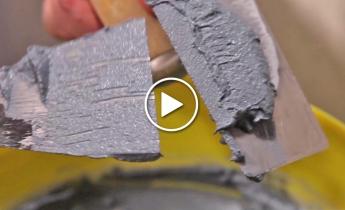 sandtex sinopia | il rivestimento minerale per interni dall'effetto camoscio vellutato e liscio
