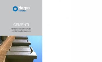 Sandtex cementi - Depliant - Ripristino calcestruzzo e impermeabilizzazione - 2015