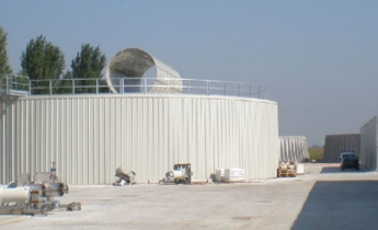 Impermeabilizzazione di serbatoi di biogas