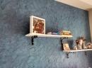 Abitazione privata - Satinal a frattone e spatola + Velasil blu + Silver
